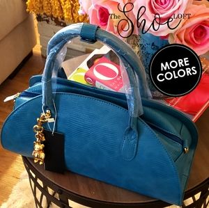 Half Moon Lizard Satchel 👜 Handbag